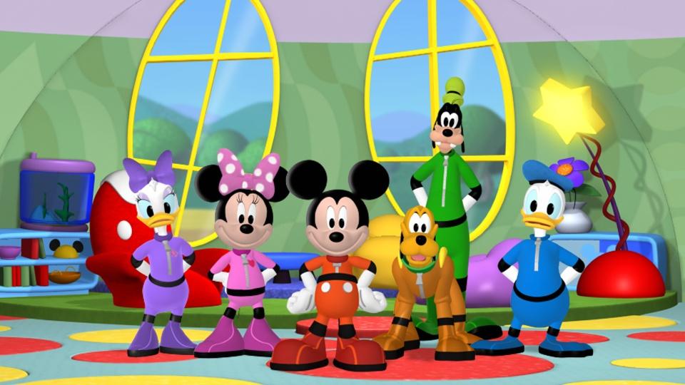 ミッキーマウス クラブハウス/スーパーアドベンチャー 動画